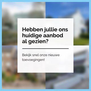 Hebben jullie ons actuele aanbod al gezien? Ook deze maand hebben wij verschillende pareltjes te koop en te huur. Wees er snel bij!www.amh-makelaars.nl