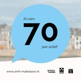 Ja, wij zijn al ruim 70 jaar actief in de mooiste woningmarkt van Nederland!Ons kantoor in Maastricht staat na al deze jaren nog steeds bekend om zijn optimale en realistische prijsstelling. Wij weten wat er vandaag en morgen speelt. Komt u ook binnenkort langs?Luikerweg 23 6212 ET Maastricht