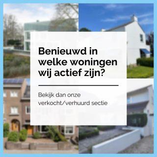 Als dé expert op het gebied van woningverkoop in en rondom Maastricht hebben wij te allen tijde een breed gamma aan woningen beschikbaar. Benieuwd wat voor een soort woningen u hierbij kunt verwachten? Neem dan eens een kijkje tussen onze Verkocht/Verhuurd sectie! Hier vind u alle woningen die wij de afgelopen maanden beschikbaar hebben gehad.https://www.amh-makelaars.nl/aanbod/woningaanbod/archief/